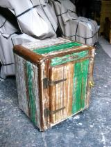 Art & Crafts/Mission Bedroom Furniture - Cabinet - Recycled Wood