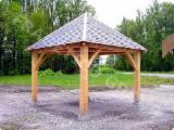 Négoce De Produits De Jardin En Bois -Fordaq - Abri voiture FRG 4040 R