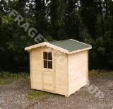 Domy Drewniane - Szkielet Z Belek Przyciętych Na Wymiar  Na Sprzedaż - Domek Letniskowy, Świerk  - Whitewood