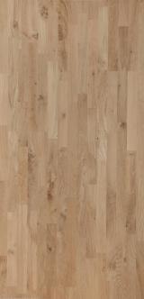 Panel furniruit - Vand Panou Din Lemn Masiv - 1 Strat Fag, Stejar 18-42 mm