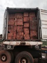 Doussie clean cut square logs