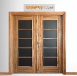 Melamine sur-faced MDF Doors