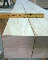 Stairs Finished Products - Rubberwood FJL panels used for stairs (export to EU market)