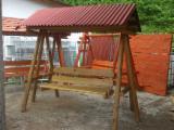 Natural Wood Garden Furniture - Traditional Fenzel Pine Garden Sets Neamt Romania