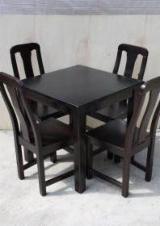 Mese Terase Restaurant - Masa Ioana + scaune lemn masiv Cristian
