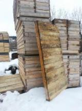 Nadelschnittholz, Besäumtes Holz Sibirische Tanne - Fichte/Tanne