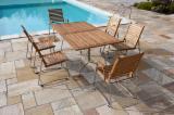 Garden Furniture  - Fordaq Online market - Garden Set Robinia + Inox at competitive price
