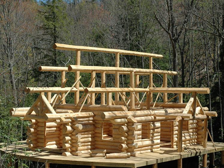 Canadian-Log-House--Cembran-Pine