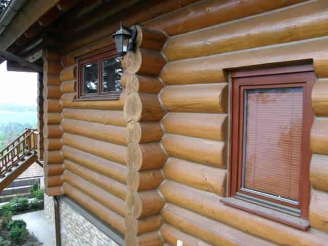 Case Di Tronchi Canadesi : Appartamento in casa di tronchi b appa homeaway
