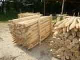 Cylindrical Trimmed Round Wood - Acacia Stakes, 6-26 cm