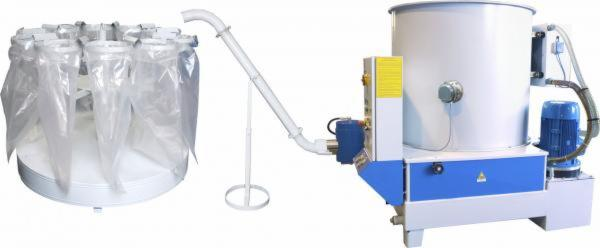 Automatic-bagging-machine-rotor-for-briquetting