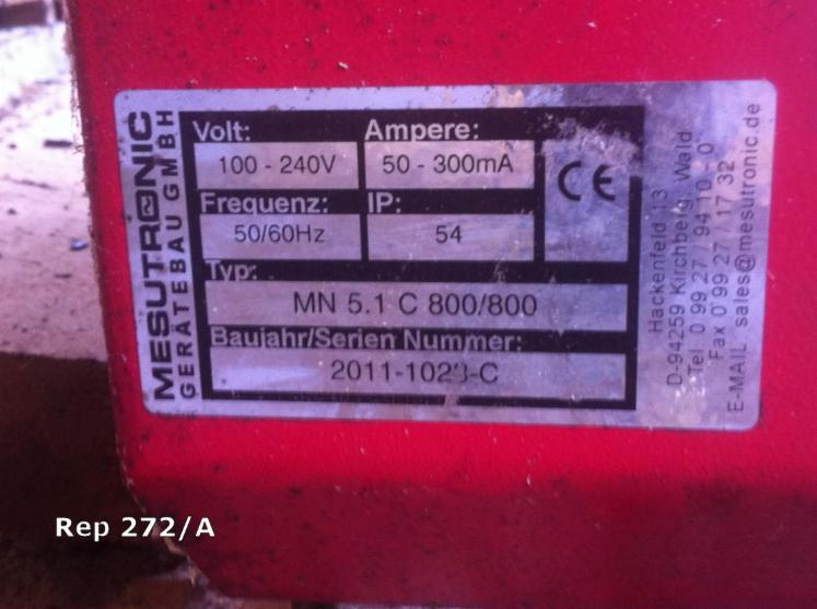 Used-2012-MESUTRONIC-Metal-Detector-in