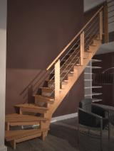 Hardwood (Temperate), Stairs, Beech (Europe)