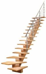Beech  Finished Products - Beech Stairs from Romania