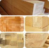 Softwood  Glulam - Finger Jointed Studs For Sale - Glulam Beams, A, Spruce (Picea abies) - Whitewood
