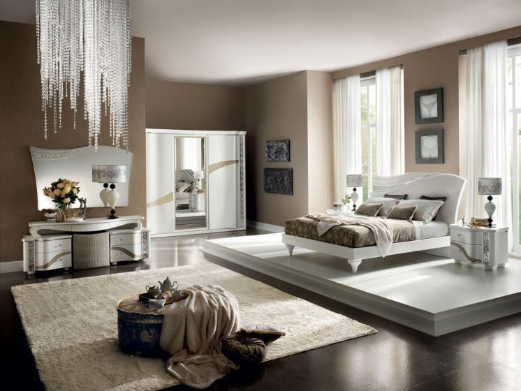 Camera Da Letto Moderna Vista Giardino Interior Design