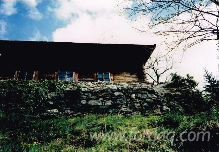 PREFABRICATED HOUSE IN OLD ORIGINAL FIR 1900-1910