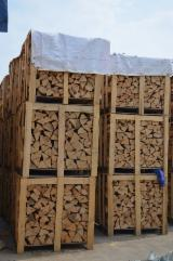 Firelogs - Pellets - Chips - Dust – Edgings Other Species For Sale Germany - Cleaved woodlogs from Poland