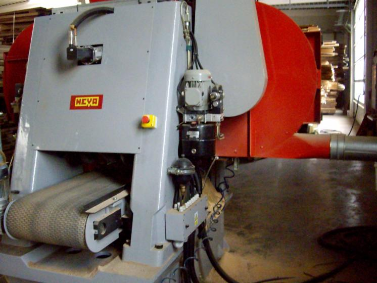 Used NEVA Remax 500 CNC 2006 Band Resaws For Sale Germany