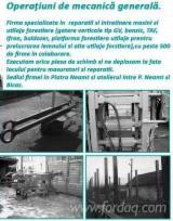 Servicii Comerciale Pentru Industria Lemnului - reparatii si intretinere gatere si utilaje forestiere