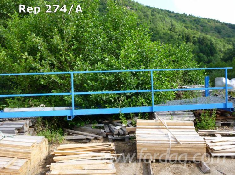 Used MEM TeleTwin Circulaires 2003 Double Blade Log And