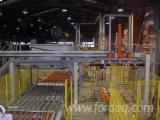 Packaging line OSB / MDF with forming joists sottopila