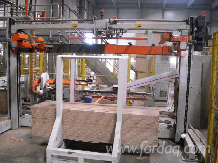 Forming Heavy Fiberboard ~ Packaging line osb mdf with forming joists sottopila
