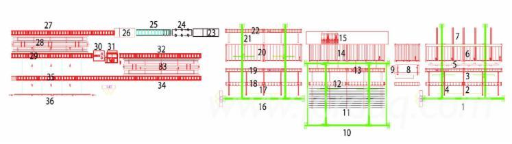 Ligne-de-traitement-poutres-avec-tampon-vertical-impr%C3%A9gnation--