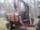 Skidding - Forwarding, Skidder Trailer, Farmi