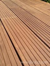 Exterior Decking  Germany - Ash (White)(Europe), Thermo Treated, Anti-Slip Decking (1 Side)