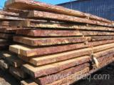 Softwood  Unedged Timber - Flitches - Boules Pine Pinus Sylvestris - Redwood - Loseware (unedged boards, sorted and bundled), Pine (Pinus sylvestris) - Redwood