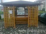 Wholesale Wood Pergola - Arbour - Fir (Abies alba, pectinata), Pergola - Arbour