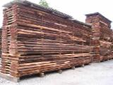 Hardwood  Unedged Timber - Flitches - Boules For Sale Germany - Swisspear lumber