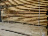 Hardwood  Sawn Timber - Lumber - Planed Timber Not Steamed - FSC Beech Strips, 26; 38; 50 mm thick