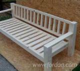 Garden Benches for sale. Wholesale exporters - Design Fir (Abies Alba) Garden Benches Buzau Romania