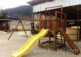 Spruce (Picea abies) - Whitewood, Children Games - Swings