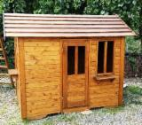 Wood Houses - Precut Timber Framing Spruce Picea Abies - Whitewood - Wooden Houses Spruce (Picea Abies) - Whitewood from Romania