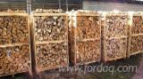 Energie- Und Feuerholz Buche - Buche Brennholz Gespalten