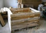 Pallets – Packaging For Sale - New Crates from Romania, Covasna