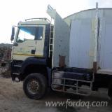 Used Forest Harvesting Equipment - Street Vehicles, Short Log Truck, MAN
