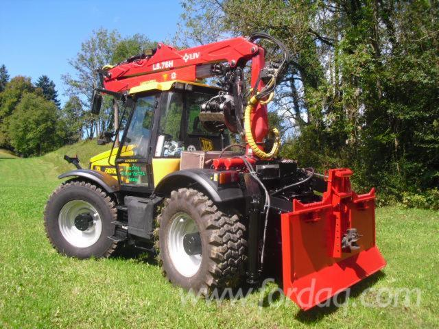 tracteur forestier jcb
