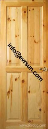 Doors, Windows, Stairs ISO-14001 - supply knotty pine door