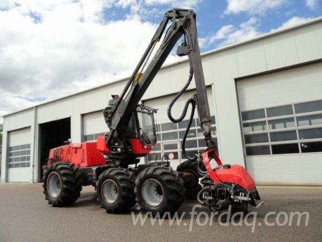 Used-2004---13825-Valmet-911-3-Harvester-in