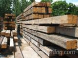 Softwood  Glulam - Finger Jointed Studs - Fir beams in old original patina