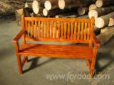 Garden Benches Garden Furniture - Traditional Spruce (Picea Abies) - Whitewood Garden Benches in Romania