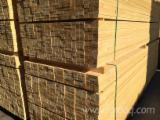 Nadelschnittholz, Besäumtes Holz Fichte Tanne  Zu Verkaufen - 23/28/38/48/58/78 x 38/48/58/78/98 x 3000-4000-5000 mm Latten gedrocknet