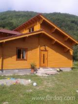 Wood Houses - Precut Timber Framing - Timber Framed House, Spruce (Picea abies) - Whitewood