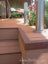 Exterior Decking  Composite Wood  - WPC Wood Plastic Components - Lemn Compozit