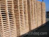 Semi Assembled Pallets, Recycled - Used in good state