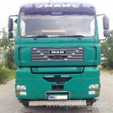 Used Forest Harvesting Equipment France - Street Vehicles, Short Log Truck, MAN